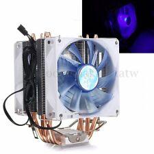 LED Copper CPU Cooler Cooling Fan Heatsink for Intel LGA775/1156/1155 AMD AM2/3