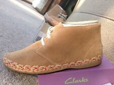 New Clarks Girls New Dance Whirl Suede Boot 12F Inf