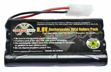9.6V 2400mAh Ni-cd Rechargeable Battery Cell Pack Tamiya Connector Black S