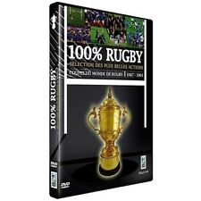 100 % rugby coupes du monde de rugby 1987-2003 DVD NEUF SOUS BLISTER