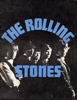 ROLLING STONES 1964 2nd U.S. TOUR CONCERT PROGRAM-JAGGER-RICHARDS BRIAN JONES