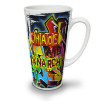 Anarchy Chaos Art NEW White Tea Coffee Latte Mug 12 17 oz | Wellcoda