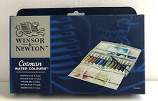 New Winsor & Newton Cotman Water Colours Painting Plus 12 Tubes
