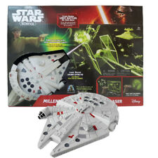 Star Wars Millennium Falcon UV Light Laser Blasters Sound Kid Science Toy Gift