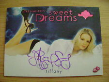 2017 Benchwarmer Dreamgirls Tiffany Selby Sweet Dreams AUTO PINK PLAYMATE