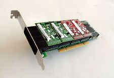 Digium 4 Port Analog PCI Asterisk Card with 2 FXS 2 FXO 1 EC 1A4A04F