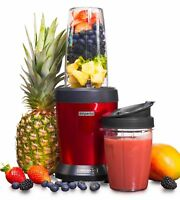 Emperial Smoothie Maker Blender Juicer Nutrient Extractor 1000W Red