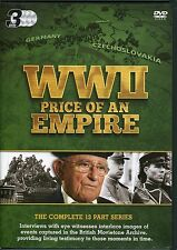 WWII PRICE OF AN EMPIRE - 3 DVD BOX SET - THE COMPLETE 13 PART SERIES