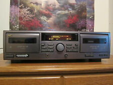 JVC TD-W215 DUAL CASSETTE DECK TAPE PLAYER RECORDER
