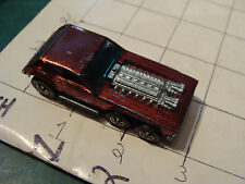 vintage Red Line Hot Wheels: OPEN FIRE in RED Nice condition, see photos