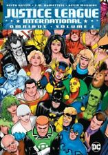 Justice League International Omnibus Vol. 1 by J. M. Dematteis and Keith Giffen (2017, Hardcover)