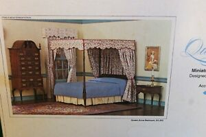 Vintage 1:12 Scale Realife Miniatures  Queen Anne Collection Bedroom Set