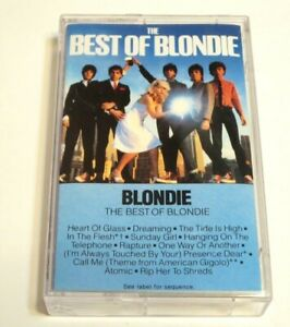 BLONDIE The Best of Cassette Tape Chrysalis Records 1981 CBGBs heart of glass