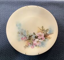 Vintage Antique Handpainted Limoges France Plate With Flowers