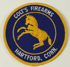 Colt Colt's Firearms Gun Pistol Embroidered Sew On Patch