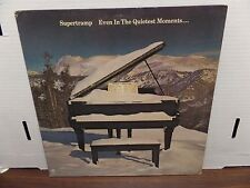Supertramp Even in The Quietest Moments A&M SP-4634  33rpm 081616DBE