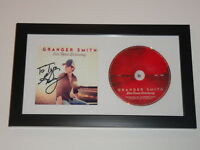 """GRANGER SMITH SIGNED FRAMED """"DIRT ROAD DRIVEWAY"""" CD COUNTRY EARL DIBBLES JR."""