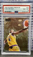 1996-97 Skybox Premium #55 Kobe Bryant Lakers RC Rookie HOF PSA 8 NM-MT