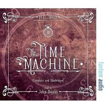The Time Machine by H. G. Wells (CD-Audio, 2017)