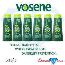 6 x VOSENE Original Medicated Anti-Dandruff Shampoo 250ml - Dandruff Prevention