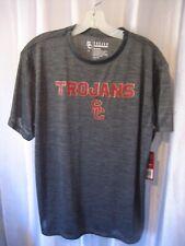 Trojan Apparel Men's Usc Trojans Grey Pullover Shirt Sz L 100% Polyester Nwwt