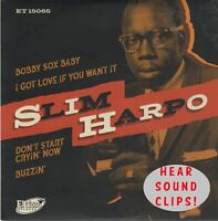 R&B EP: SLIM HARPO - Bobby Sox Baby/Got Love If You Want/Don't Start Crying + 1
