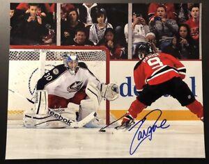 Zach Praise Autographed 8x10 New Jersey Devils Minnesota Wild
