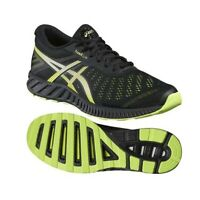 Asics Fuzex Lyte Mens Trainers Asics Mens Running Fitness Gym Shoes Black Size
