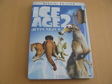 Ice Age 2 Jetzt taut`s Special Edition Steel Box  2 Stunden Bonusmaterial 2 DVD