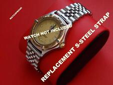BRACELET STRAP BAND replacement  TO FIT TAG HEUER 2000 S-STEEL 18MM 20MM+2BARS