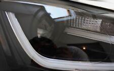 FRONT SCHEINWERFER SET VW JETTA 6 VI TAGFAHRLICHT TFL-LOOK SCHWARZ NEU TÜV-FREI