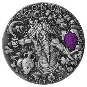 Niue 2018 – Greek Titans – Cronus – $2 silver coin 2 oz.