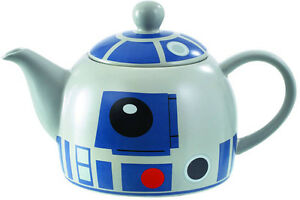 STAR WARS R2-D2 CERAMIC TEAPOT BRAND NEW IN BOX GREAT GIFT