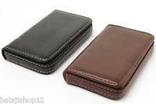 High Quality Stylish ATM Debit Credit Card holder Wallet Brown & Black Leather