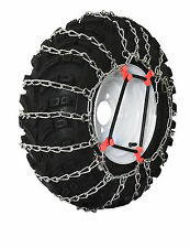 Grizzlar GTU-248 Garden Tractor Snowblower Tire Chains Ladder 2 link 18x6.50-8