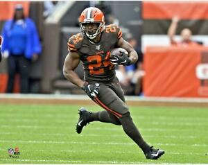 Nick Chubb Cleveland Browns Unsigned Running Photograph