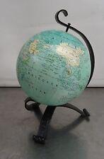 vintage mini globe - Älterer kl. Globus Erdglobus Flemmings Verlag Hamburg ~60er