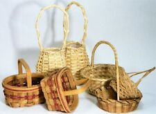 Baskets/Wicker/Rattan/Woven/Small/Display/Crafts/BoHo Chic/ 7
