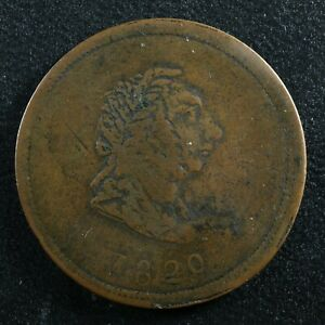 LC-57A2 1820 token Bust Commerce Bas Lower Canada Breton 1011