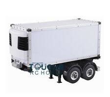 20ft RC Reefer Semi Truck With Container 1/14 DIY for TAMIYA Tractor Hercules
