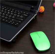New Terabyte Ultra Slim Wireless Mouse Green Colour 2.4 GHz with 1 year warranty