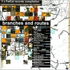 Branches And Routes (A FatCat Records Compilation, 2CD 2003) New/Sealed