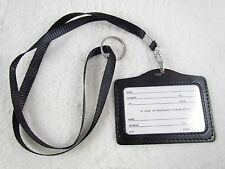 Necklace LANYARDs ID Badge Holder Card Case Badge Neck Key Chain Strap Lanyard
