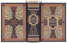 THE HOLY BIBLE: KJV illustrated (Gustave Dore) Sealed Leather Bound GIFT QUALITY