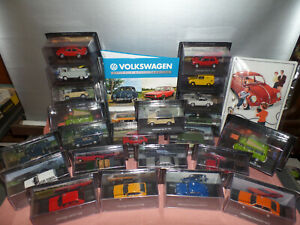 Volkswagen Modell-Sammlung 1:43 neuwertig mit Zeitung Auswahl 1- 16 DeAgostini