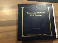 Usa stamps Album important firsts on US stamps mint stamps in covers 36x