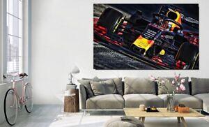 Canvas Wall Art - Max Verstappen