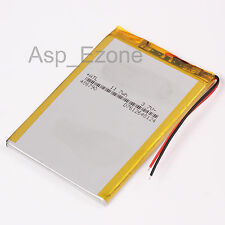 3.7V Polymer Battery 486790 3800mAh Li-po Batteries with PCM Rechargeable
