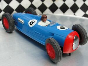PINK KAR AUTO UNION TYPE C  BLUE  #8  1:32 SLOT NEW OLD STOCK UNBOXED
