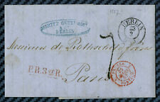 -= Lettre de BERLIN (Prusse) pour MM. ROTHSCHILD frères à PARIS - 1857 =-
